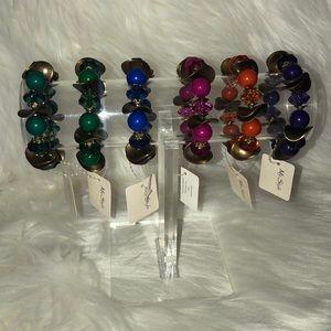 New woman's 6 piece set bracelets
